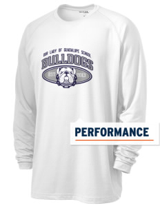 Our Lady Of Guadalupe School Bulldogs Men's Ultimate Performance Long Sleeve T-Shirt