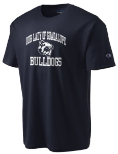 Our Lady Of Guadalupe School Bulldogs Champion Men's Tagless T-Shirt