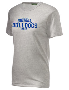 Bidwell Elementary School Bulldogs Embroidered Alternative Unisex Eco Heather T-Shirt