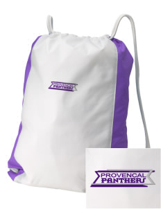 Provencal Elementary School Panthers Embroidered Holloway Home and Away Cinch Bag