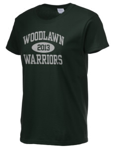 Woodlawn Middle School Warriors Women's 6.1 oz Ultra Cotton T-Shirt