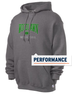 Woodlawn Middle School Warriors Russell Men's Dri-Power Hooded Sweatshirt