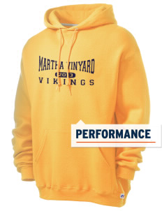 Martha Vinyard Elementary School Vikings Russell Men's Dri-Power Hooded Sweatshirt