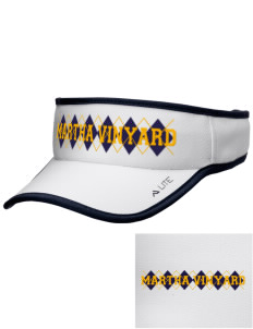Martha Vinyard Elementary School Vikings Embroidered Lite Series Active Visor