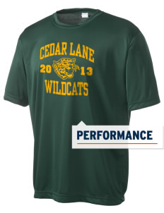 Cedar Lane Elementary School Wildcats Men's Competitor Performance T-Shirt