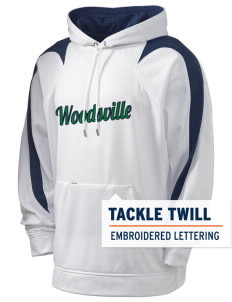 Woodsville Elementary School Owls Holloway Men's Sports Fleece Hooded Sweatshirt with Tackle Twill