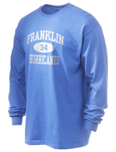 Franklin Middle School Hurricanes 6.1 oz Ultra Cotton Long-Sleeve T-Shirt