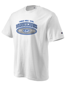 Franklin Middle School Hurricanes Champion Men's Tagless T-Shirt
