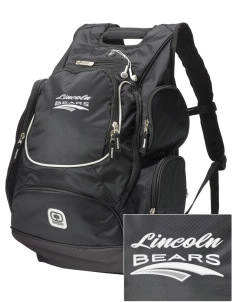 Lincoln Middle School Bears  Embroidered OGIO Bounty Hunter Backpack
