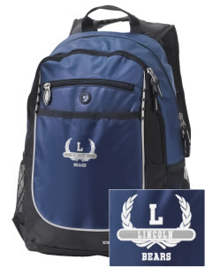 Lincoln Middle School Bears Embroidered OGIO Carbon Backpack