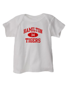 Hamilton Primary School Tigers  Baby Lap Shoulder T-Shirt