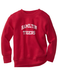 Hamilton Primary School Tigers Toddler Crewneck Sweatshirt