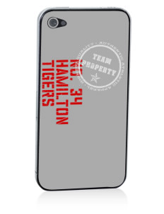 Hamilton Primary School Tigers Apple iPhone 4/4S Skin