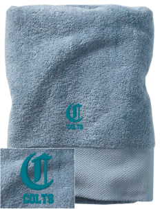 Conlee Elementary School Colts Embroidered Zero Twist Resort Towel