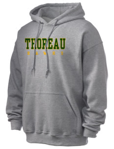 Thoreau High School Hawks Ultra Blend 50/50 Hooded Sweatshirt