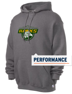 Thoreau High School Hawks Russell Men's Dri-Power Hooded Sweatshirt