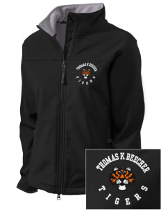 Thomas K Beecher Elementary School Tigers Embroidered Women's Glacier Soft Shell Jacket