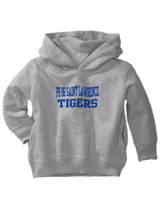 PS 86 Saint Lawrence School Tigers  Toddler Fleece Hooded Sweatshirt with Pockets