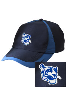PS 86 Saint Lawrence School Tigers Embroidered Nike Golf Colorblock Cap