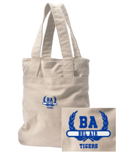 Bel Air Elementary School Tigers Embroidered Alternative The Berkeley Tote