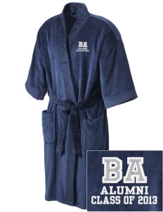 Bel Air Elementary School Tigers Embroidered Terry Velour Robe