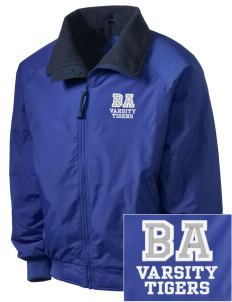 Bel Air Elementary School Tigers Embroidered Men's Fleece-Lined Jacket