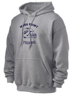 Moss Point High School Tigers Ultra Blend 50/50 Hooded Sweatshirt