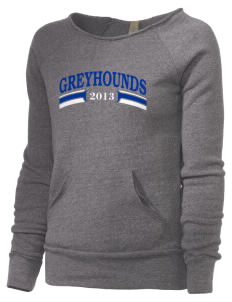 Ocean Springs High School Greyhounds Alternative Women's Maniac Sweatshirt