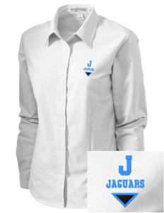 Jackson Elementary School Jaguars Embroidered Women's Classic Oxford