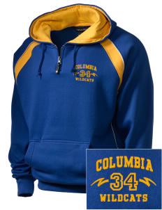 Columbia Primary School Wildcats Embroidered Holloway Men's Vibe Hooded Sweatshirt