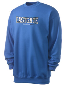 Eastgate Middle School Eagles Men's 7.8 oz Lightweight Crewneck Sweatshirt