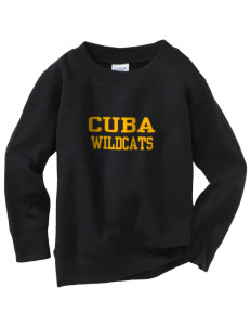 Cuba Middle School Wildcats Toddler Crewneck Sweatshirt