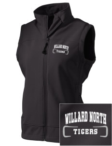 Willard North Elementary School Tigers  Embroidered Women's Glacier Soft Shell Vest