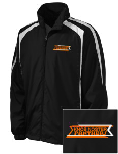 Knob Noster High School Panthers Embroidered Men's Colorblock Raglan Jacket