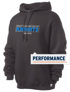 Mount Saint Mary College Knights Russell Men's Dri-Power Hooded Sweatshirt