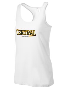Central Elementary School Bulldogs Women's Racerback Tank