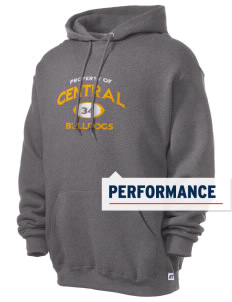 Central Elementary School Bulldogs Russell Men's Dri-Power Hooded Sweatshirt