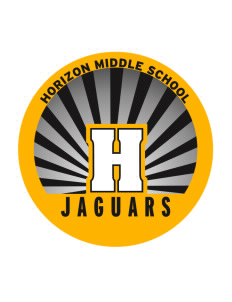 Horizon Middle School Jaguars Sticker