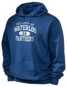 Waterloo School Panthers Holloway Men's 50/50 Hooded Sweatshirt