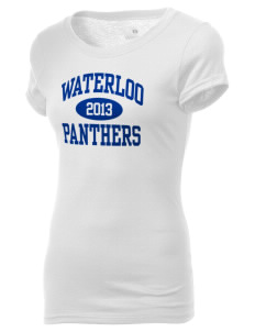 Waterloo School Panthers Holloway Women's Groove T-Shirt