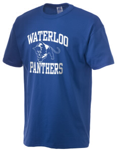 Waterloo School Panthers  Russell Men's NuBlend T-Shirt