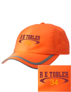 R E Tobler Elementary School Tigers  Embroidered Safety Cap