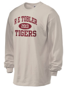 R E Tobler Elementary School Tigers 6.1 oz Ultra Cotton Long-Sleeve T-Shirt