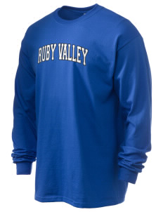 Ruby Valley Elementary School Mustangs 6.1 oz Ultra Cotton Long-Sleeve T-Shirt