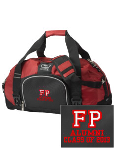 Fabius-Pompey MiddleHigh School Falcons  Embroidered OGIO Big Dome Duffel Bag