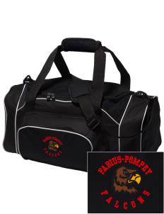 Fabius-Pompey MiddleHigh School Falcons Embroidered Holloway Duffel Bag