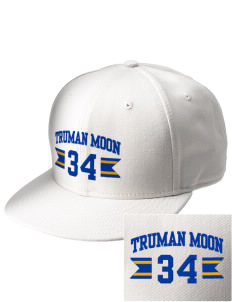 Truman Moon Elementary School Rockets  Embroidered New Era Flat Bill Snapback Cap