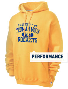 Truman Moon Elementary School Rockets Russell Men's Dri-Power Hooded Sweatshirt