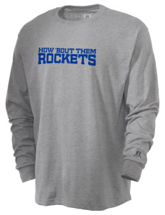 Truman Moon Elementary School Rockets  Russell Men's Long Sleeve T-Shirt