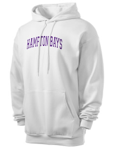 Hampton Bays Secondary School Baymen Men's 7.8 oz Lightweight Hooded Sweatshirt